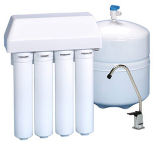 New home water filtration system