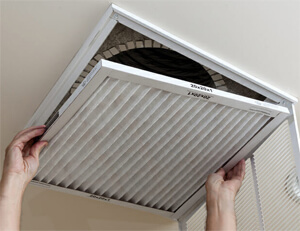 change air conditioner filter